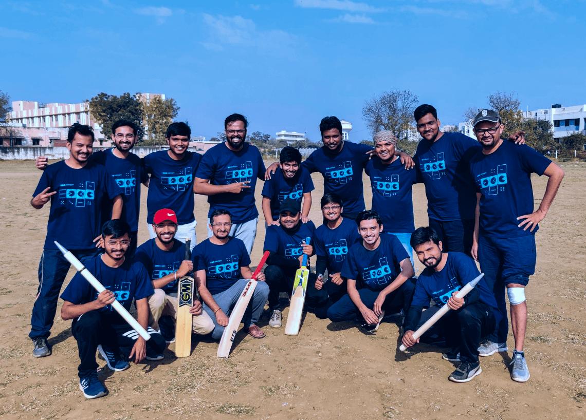 Aubergine team Cricket match