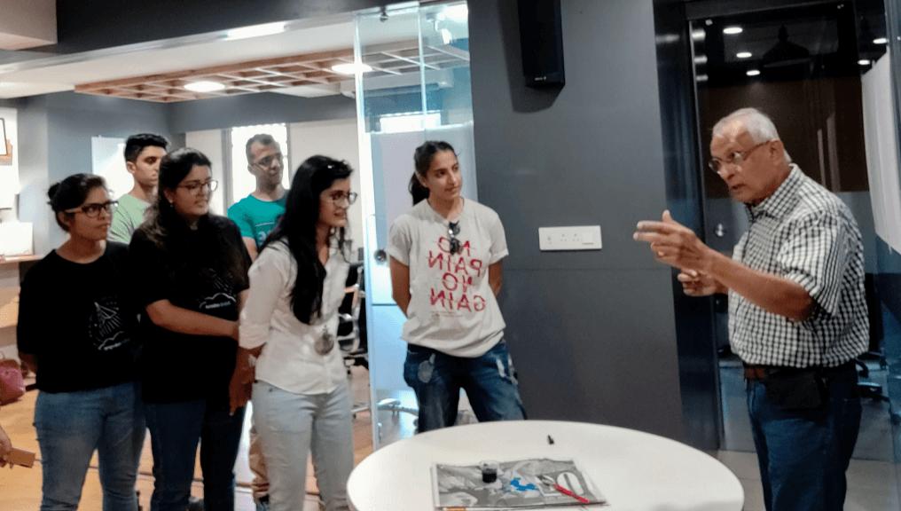 Meetup session at Aubergine